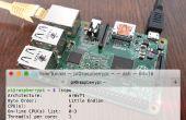Acceso remoto SSH a frambuesa Pi 2