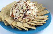Cómo hacer una bola de queso + mis recetas favoritas - tocino de nuez y almendra arándano