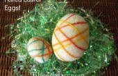 Huevos de Pascua de lana de fieltro
