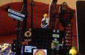 Twitter seguimiento juguete construido con LEGO y Arduino