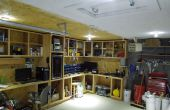 """""""La rejilla"""" Iluminación Solar garaje eléctrico de DC... Hard Wired y completamente integrado"""
