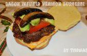 Bacon había infundido hamburguesas de venado!