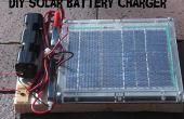 Cargador de batería Solar DIY