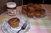 Muffins de Nutella calabaza