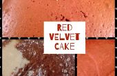 Receta de tarta de terciopelo rojo