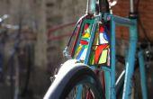 Cómo hacer una luz de bici de vidrio