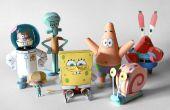 Bob esponja y amigos Papercraft – toda la coleccion