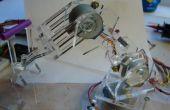 Plexi Bot: Inalámbrico brazo robótico
