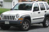 Jeep Liberty techo rieles en el barato