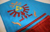 Cómo coser y bordar bufanda de enlace de Hyrule guerreros