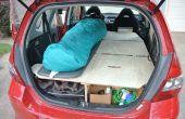 Final del camino viaje coche conversión (Honda Fit)