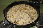 Pollo de la olla y arroz