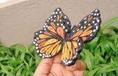 Un hermoso Quilled mariposa