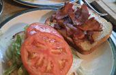 Tradicional sándwich BLT