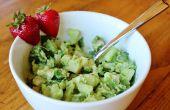Pollo ensalada verde
