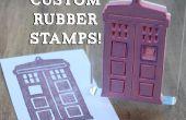 Crear sellos de goma personalizados!
