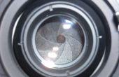 Fijación de un diafragma de la lente enfoque Manual (con una banda elástica)