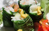 Sushi Seaweedless orgánica - crece tu propio sushi envolturas de hojas comestibles, fácil de cultivar.