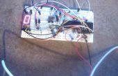 Pantalla de 7 segmentos LED con controlador PIC y Flowcode V5
