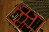 Dispone de caja de las cámaras de caja de herramienta antigua