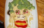 Plato de Hummus de Frankenstein