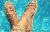 Una alpargata, sandalias más de 20