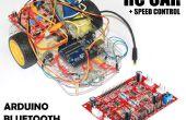 Velocidad coche RC controlado con (controlador de controlador de Motor de CH 4 + Arduino + Bluetooth)