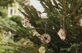 Ornamentos de árbol barato 'fácil ' helada ' n al aire libre de Navidad