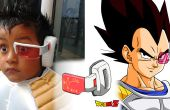 Scouter (Rastreador) Dragon Ball casero