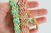 Diseños de pulsera con cordón y cadena de cadena