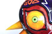 The Legend of Zelda: réplica de la máscara de Majora