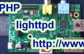 Configurar un servidor de web de frambuesa Pi PHP