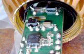 Sustitución de condensadores defectuosos en E27 Bombilla LED de