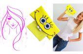 Cómo hacer espuma de manualidades / Bob Esponja SquarePants tejido soporte Tutorial para niños
