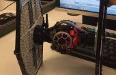 Revertir ingeniería y 3D impresión un Lego primera orden Tie Fighter!