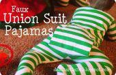 Chaqueta pijama juego de Unión