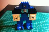 Cómo construir un interruptor de audio estéreo de 1/8 de pulgada (3,5 mm) con Legos