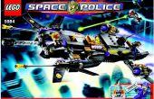Policía LEGO espacial - Limo Lunar MOC (5984)