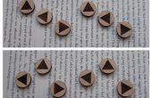 Leyenda de símbolos de botón c Zelda ocarina