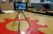 Rápido y sucio de trípode para un Galaxy S4 en un caso de Otterbox Defender