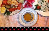 Mar de amor (cena de marisco para dos personas)