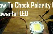 Cómo comprobar la polaridad de LED de gran alcance