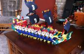 K'nex Pirate Ship