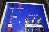 Estado de indicador de carga de la batería de 12V