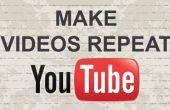 Cómo hacer videos de Youtube se repita