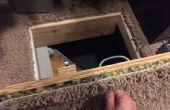 Puerta de acceso $14 Crawlspace secreto