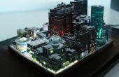 Ciudad en miniatura LED