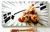 Takoyaki con molde para pasteles Pop