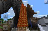 Cómo recoger Lava en Minecraft Pocket Edition