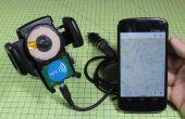 Cargador inalámbrico DIY + NFC Dock para el coche